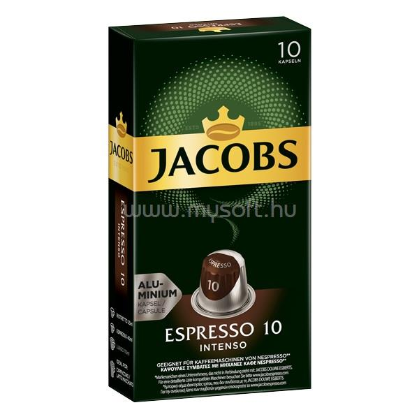 DOUWE EGBERTS Jacobs Espresso Intenso 10 db kávékapszula