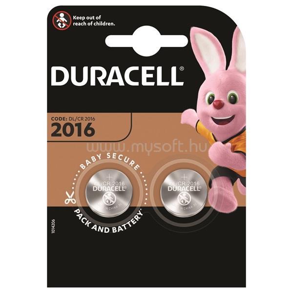 DURACELL DL2016 2 db elem - DL