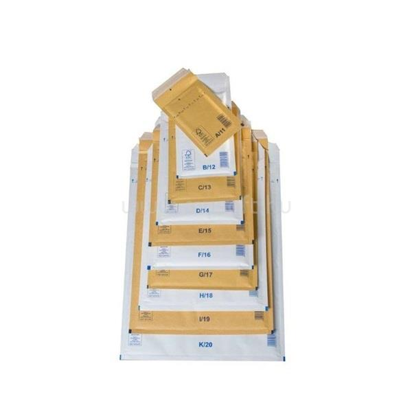 EGYEB BELFOLDI 320x455mm fehér légpárnás boríték W9