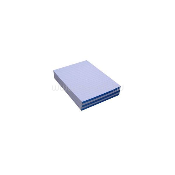 EGYEB BELFOLDI A6 ragasztott vonalas fehér jegyzettömb