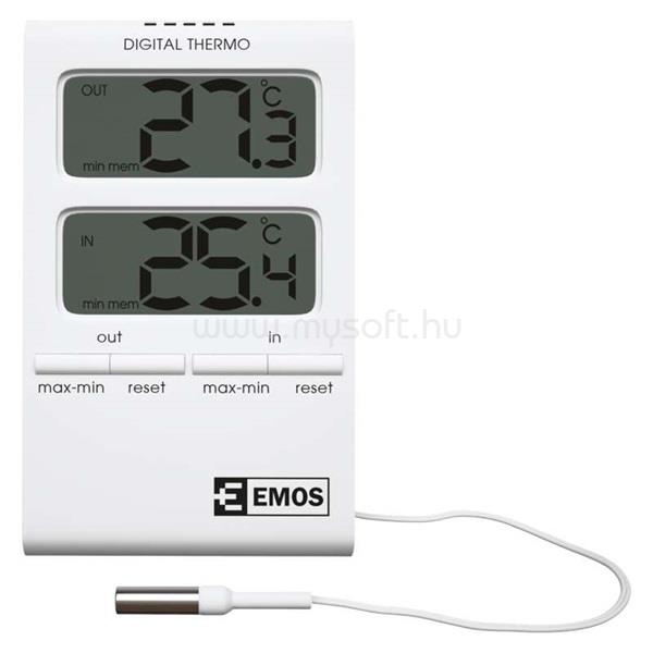EMOS E2100szondával vezetékes digitális hőmérő