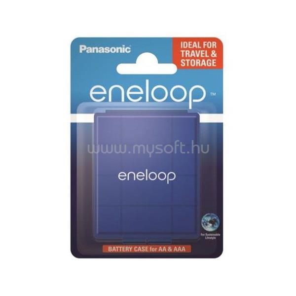 ENELOOP BQ-CASEL/1E kék akkubox 4 db AA/AAA akkuhoz