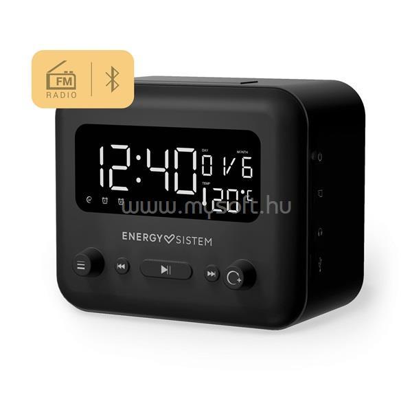ENERGY SISTEM EN 450930 Clock Speaker 2 Bluetooth fekete ébresztőórás hangszóró