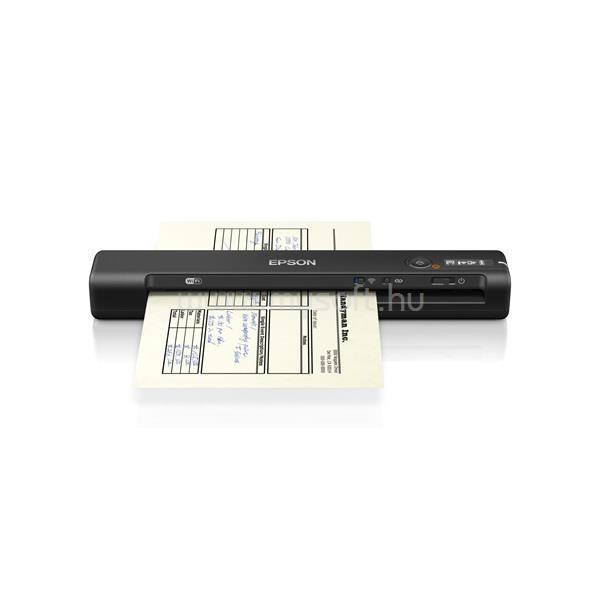 EPSON Docuscanner - WorkForce ES-60W (A4, 600 DPI, 4 lap/perc, USB/WiFi)