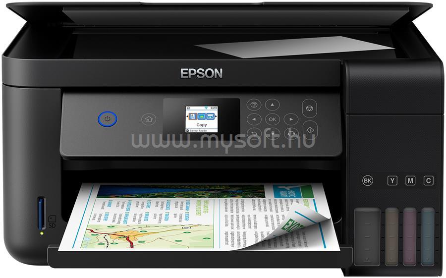 EPSON L4160 EcoTank külső tintatartályos nyomtató C11CG23401 large