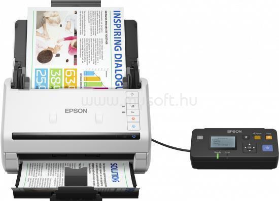 EPSON WorkForce DS-530N A4 lapáthúzós dokumentumszkenner
