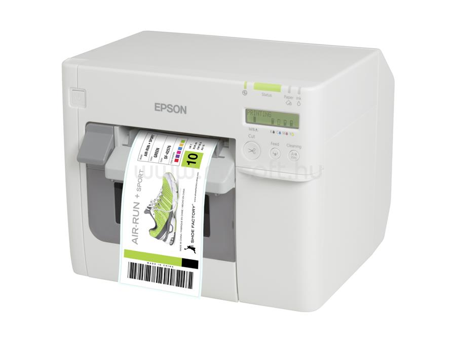 EPSON ColorWorks C3500 színes tintasugaras címkenyomtató