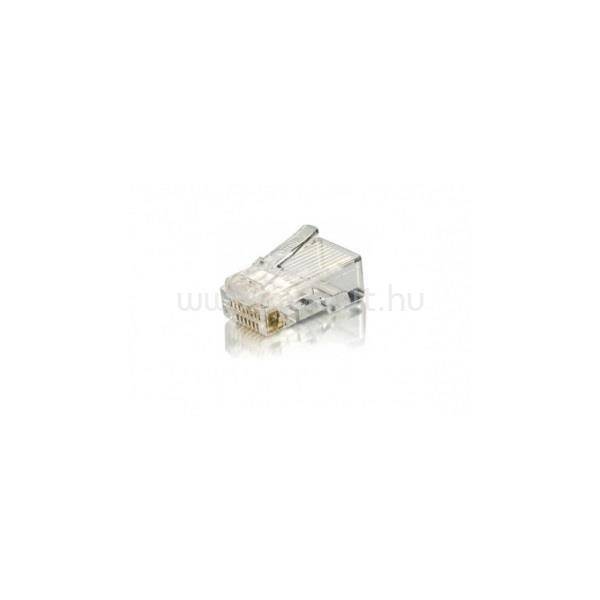 EQUIP 121143 UTP Cat6, RJ45 dugó, 100db/csomag