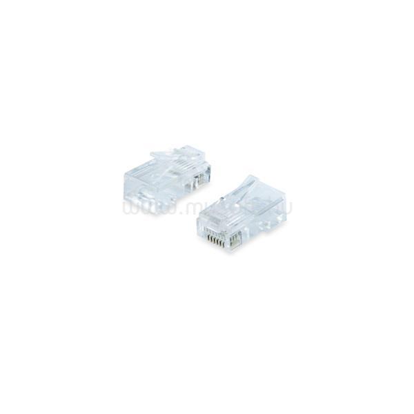 EQUIP 121145 UTP Cat5e, RJ45 dugó, 100db/csomag