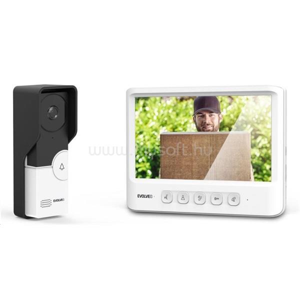EVOLVEO DoorPhone IK06 memóriával és színes displayjel  videós kaputelefon szett