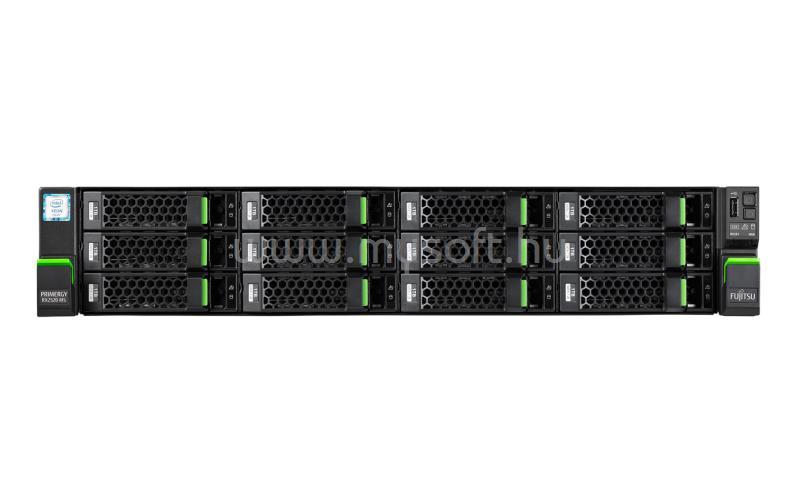FUJITSU PRIMERGY RX2520 M5 2U Rack No Raid 1x Silver-4208 2,1 1x 800W iRMC Advanced 4x 3.5