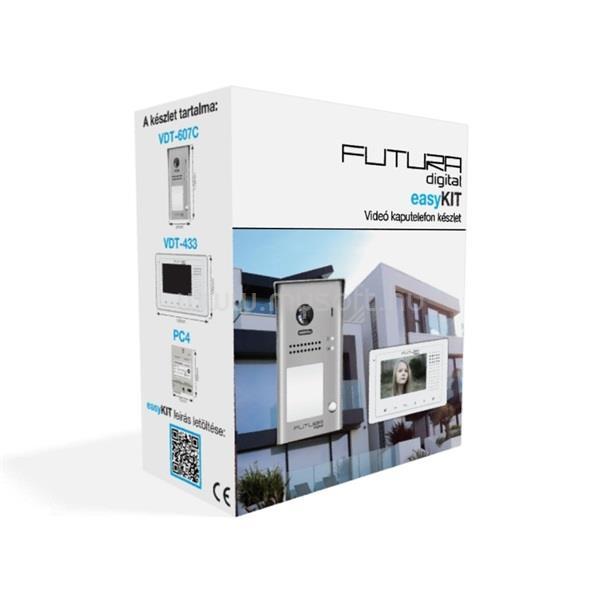 FUTURA DIGITAL FUTURA easyKIT - (VDK-43361) - 1 lakásos színes videokaputelefon szett
