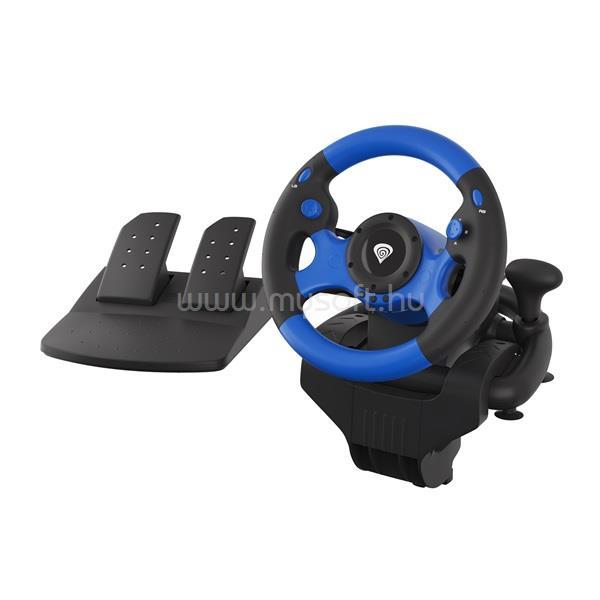 GENESIS Seaborg 350 PC/Konzol fekete-kék versenykormány