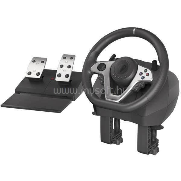 GENESIS Seaborg 400 PC/Konzol fekete versenykormány