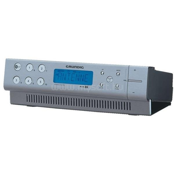 GRUNDIG Sonoclock 890 RDS konyhai rádió