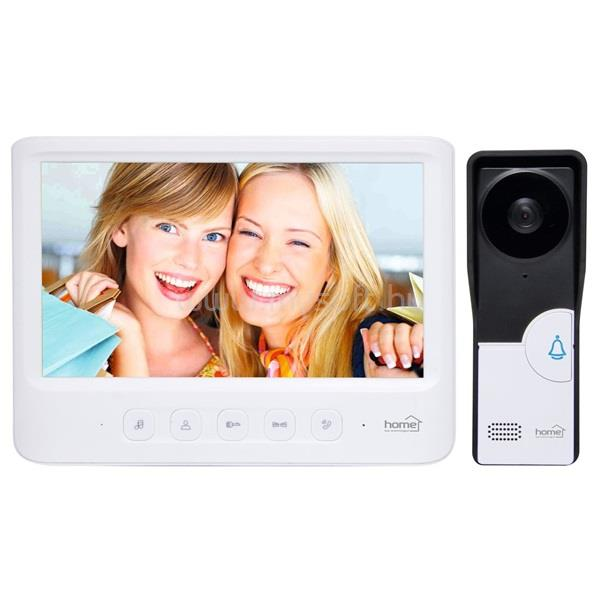 "HOME DPV 26 fehér videó kaputelefon 7""-os LCD beltéri monitorral"