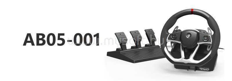 HORI Force Feedback Kormány és pedál XS X/S