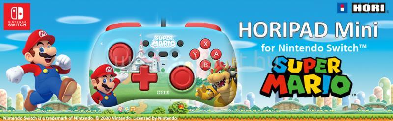 HORI Nintendo Switch HORIPAD Mini (Super Mario) NSW-276U large