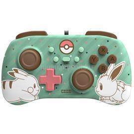 HORI Nintendo Switch HORIPAD Mini Pikachu & Eevee mintás vezetékes kontroller NSP1651 small