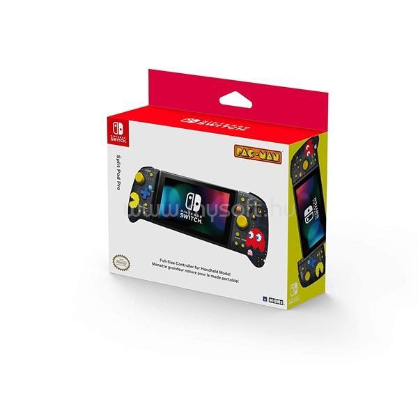 HORI Nintendo Switch Split Pad Pro Pac-Man mintás fekete vezeték nélküli kontroller