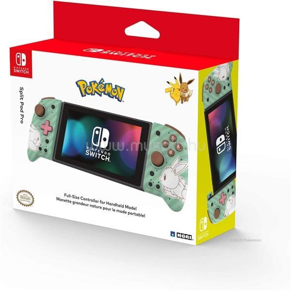 HORI Nintendo Switch Split Pad Pro Pikachu & Eevee mintás vezeték nélküli kontroller