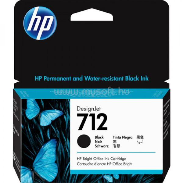 HP DesignJet 712 Festékpatron 38ml (fekete)