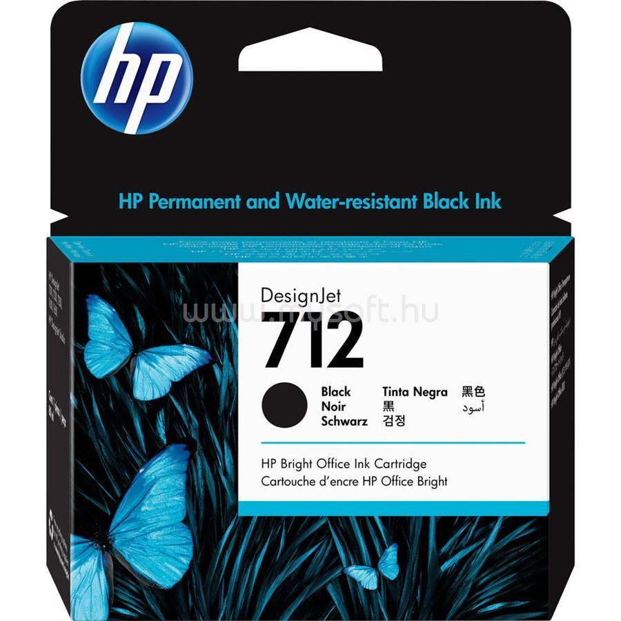 HP DesignJet 712 Festékpatron 80ml (fekete)
