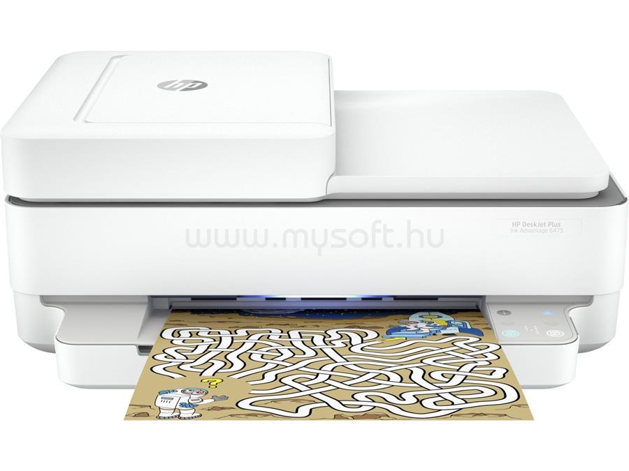 HP DeskJet Plus 6475 Multifunkciós Nyomtató