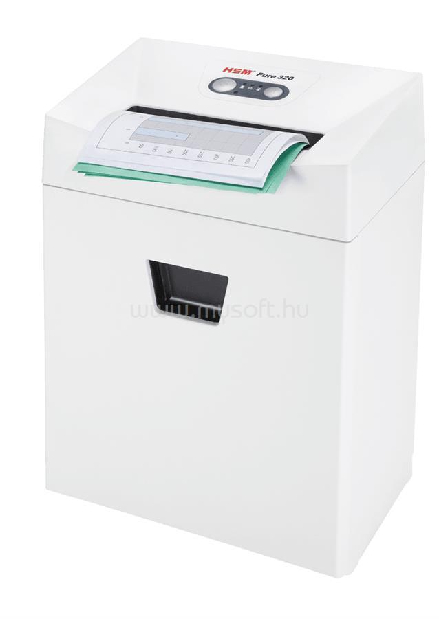 HSM Pure 320 3,9x30 iratmegsemmisítő