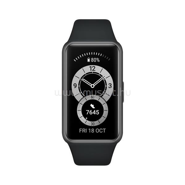 HUAWEI Band 6 Graphite Black aktivitásmérő karpánt