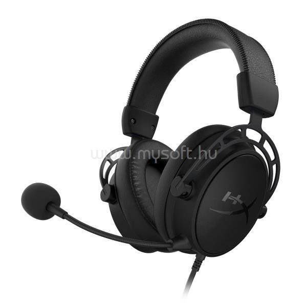 KINGSTON HyperX Cloud Alpha S - Gaming Headset (Blackout) - PC
