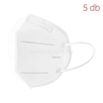 IDEA KN95 Maszk (FFP2) egészségügyi maszk 5db