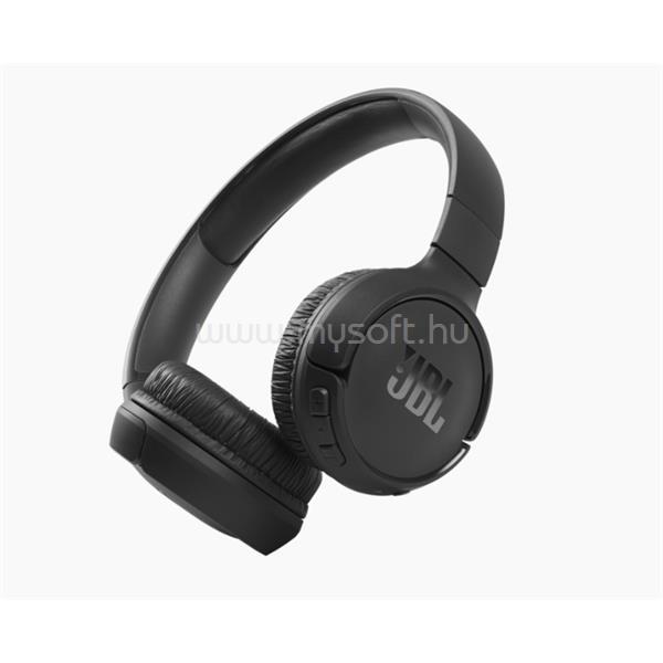 JBL T510BT Bluetooth fejhallgató (fekete)