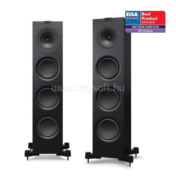 KEF Q 750 fekete álló hangfalpár