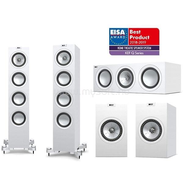 KEF Q550 5.0 fehér hangfal szett (Q550+ Q150+ Q250c)