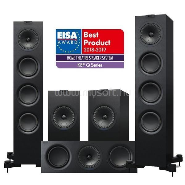 KEF Q550 5.0 fekete hangfal szett (Q550+ Q150+ Q250c)