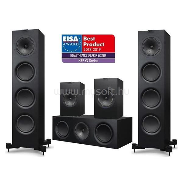 KEF Q750 5.0 fekete hangfal szett (Q750 + Q350 + Q650c)