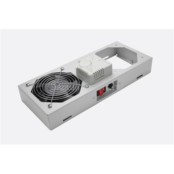 LANDE LN-FAN-THM-1FWMIP-LG 1 modulos szürke ventilátor egység termosztáttal