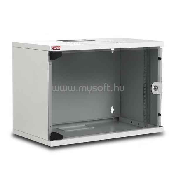 """LANDE LN-SH07U5440-LG-F0 NETbox SOHO 19"""" 7U 540x400 szürke fali rack szekrény"""