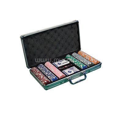 LIONGAMES Pókerszett alu kofferben