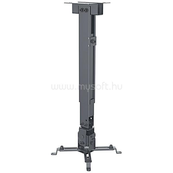 MANHATTAN Projektor Mennyezeti konzol - (forgatható, dönthető 43cm - 63cm-ig, 20kg terhelhetőség)