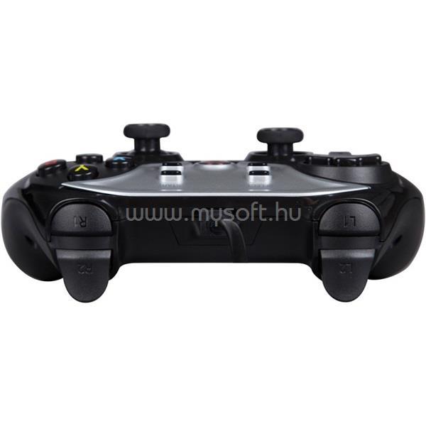 MARVO Gamepad - GT-014 (USB, 1,8m kábel, Vibration, PC / PS3 kompatibilis, fekete) MARVO_GT-014 large