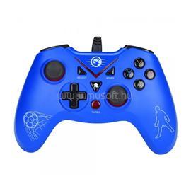 MARVO Gamepad - GT-018 (USB, 1,8m kábel, Vibration, PC / PS3 kompatibilis, kék) MARVO_GT-018 small