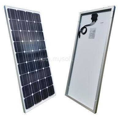 MW POWER 100W  monokristályos napelem panel