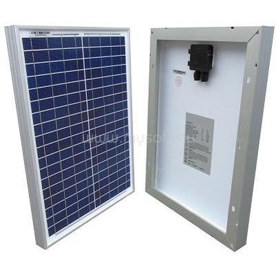 MW POWER 10W polykristályos napelem panel