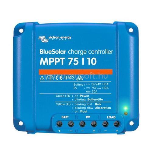 VICTRON ENERGY MPPT napelem töltésvezérlő - 75/10