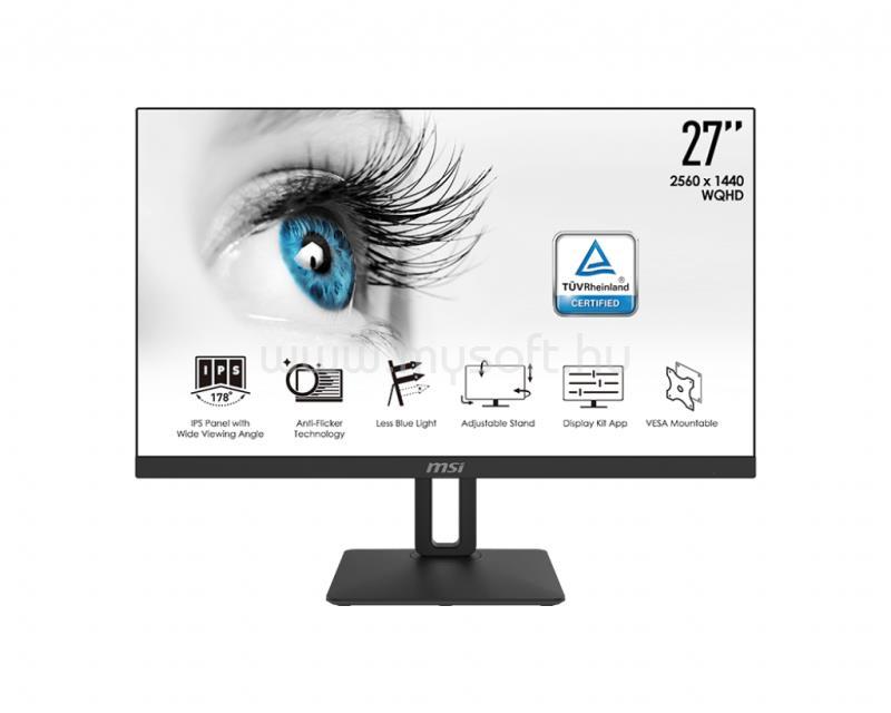 MSI PRO MP271QP monitor