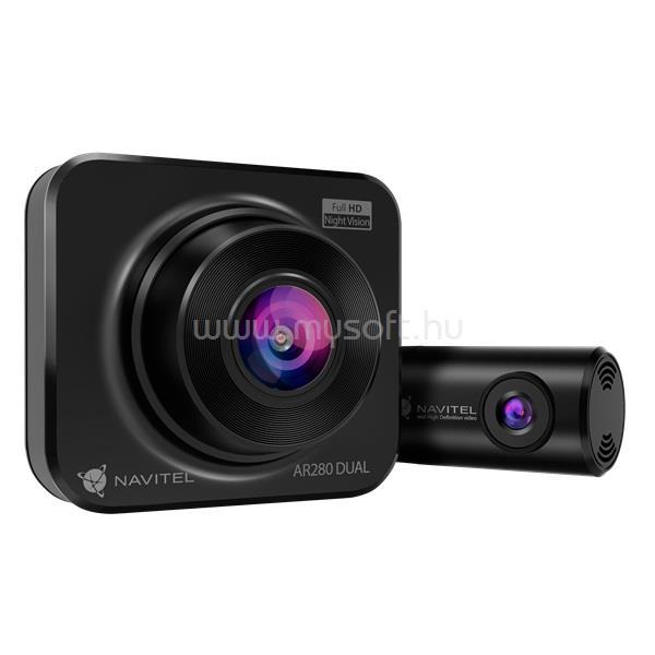 NAVITEL AR280 Dual Full HD autós kamera