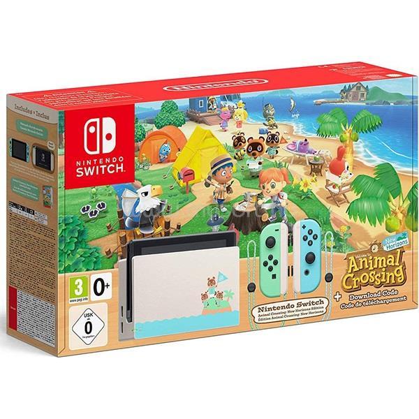 NINTENDO Switch Animal Crossing Edition játékkonzol csomag