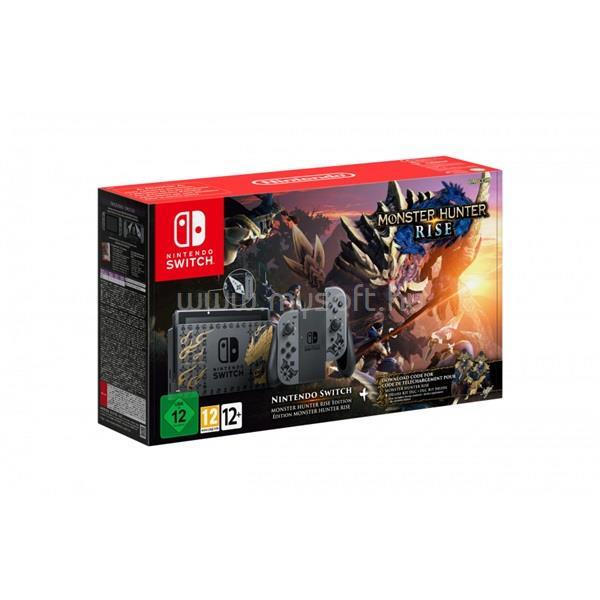 NINTENDO Switch Monster Hunter Rise Edition játékkonzol csomag